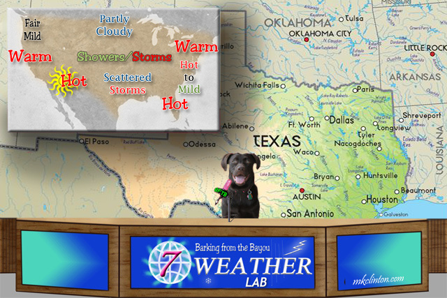 BFTB NETWoof Weather Lab and forecast map