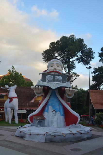 Decoração da Casa do Colono, Gramado.