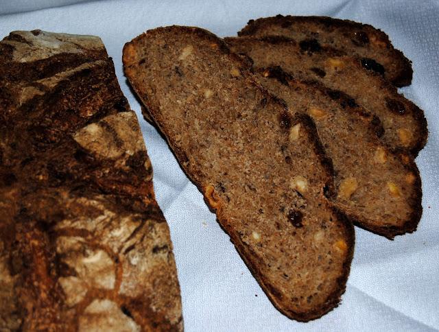 Pan de Centeno y Nueces