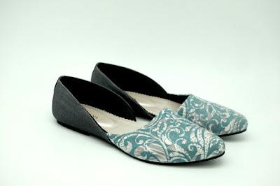 Sepatu Batik Cirebon: Anjani Tosca