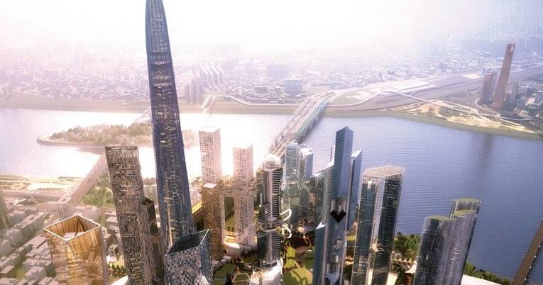 The Skyscraper Architecture Triple One Yongsan