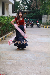 Actress Aathmika in lovely Maraoon Choli ¬  Exclusive Celebrities galleries 058.jpg