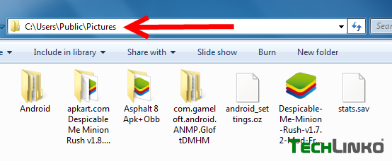How to Store Bluestacks obb/data/sdcard Shared Folder Location in PC