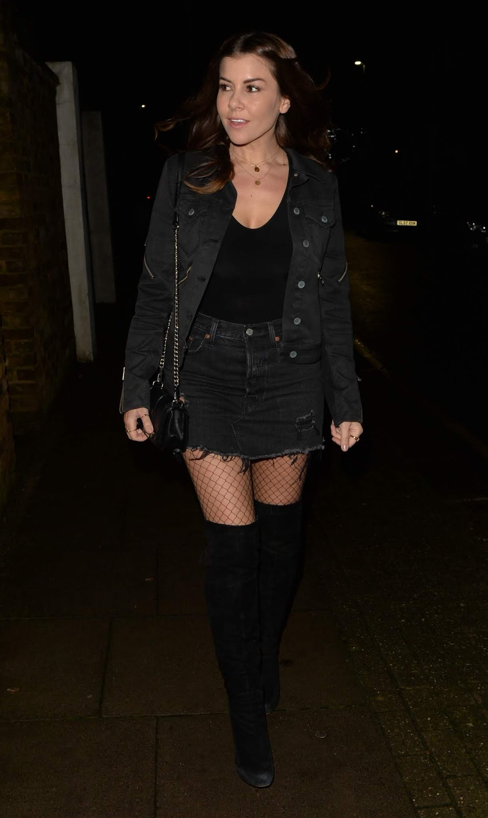 Imogen Thomas seen at Soho House - 01/26/2019