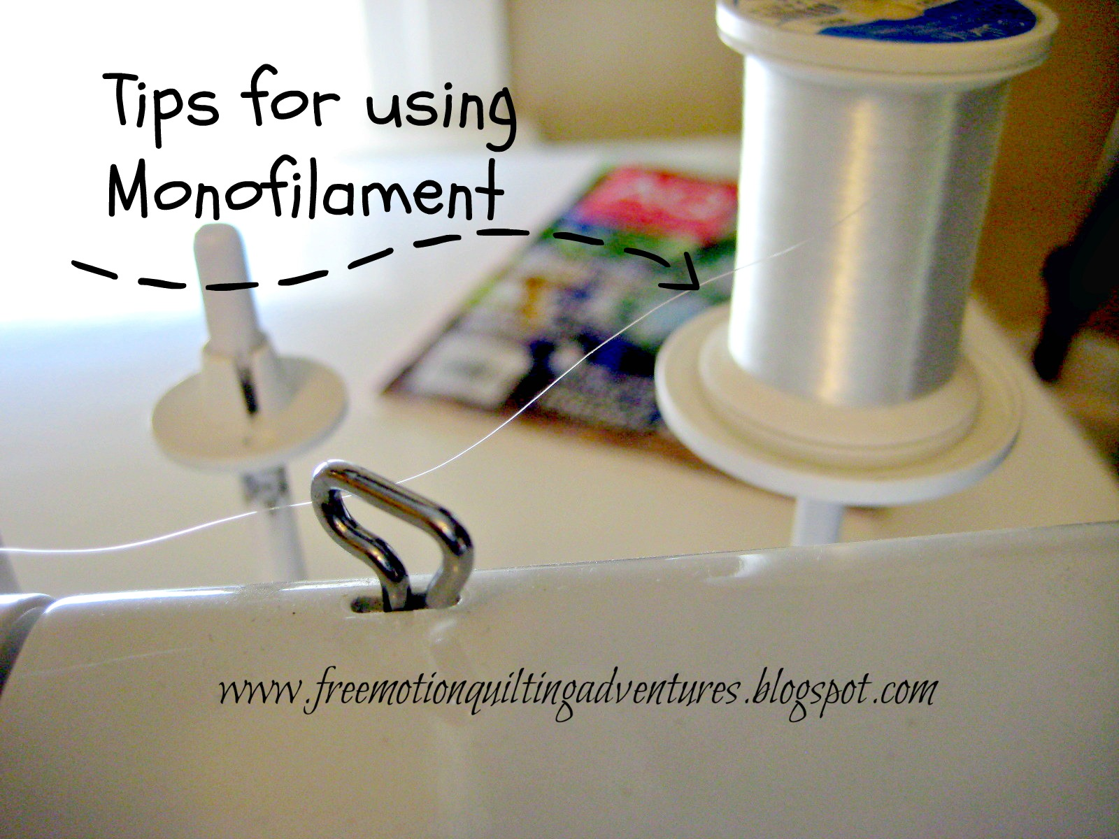 tips for using monofilament thread