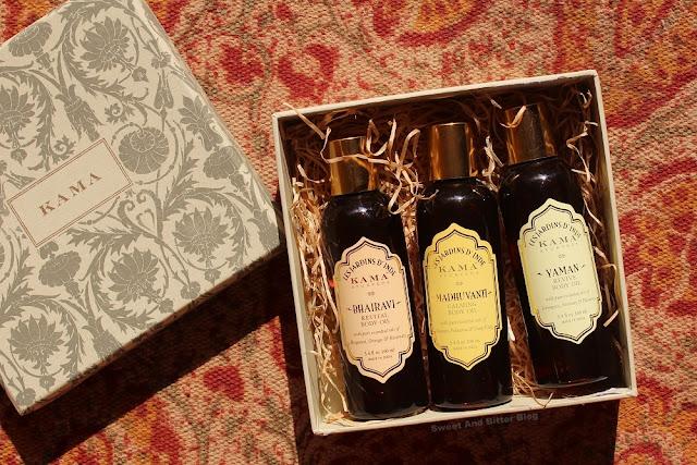 Kama Ayurveda Body Oil Gift Box