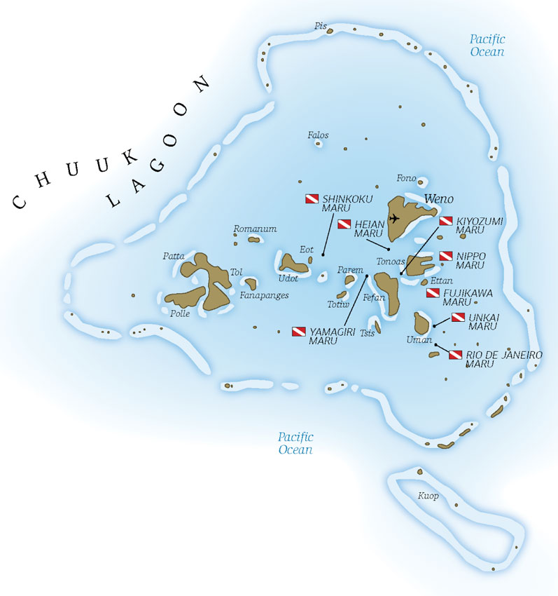 Ghost Fleet Of Truk Lagoon Chuuk Truk Lagoon