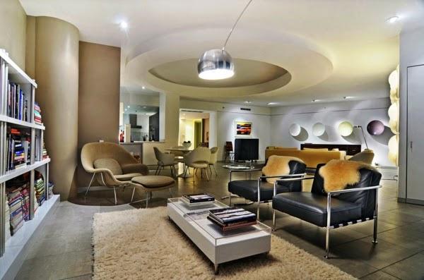 moderna sala elegante