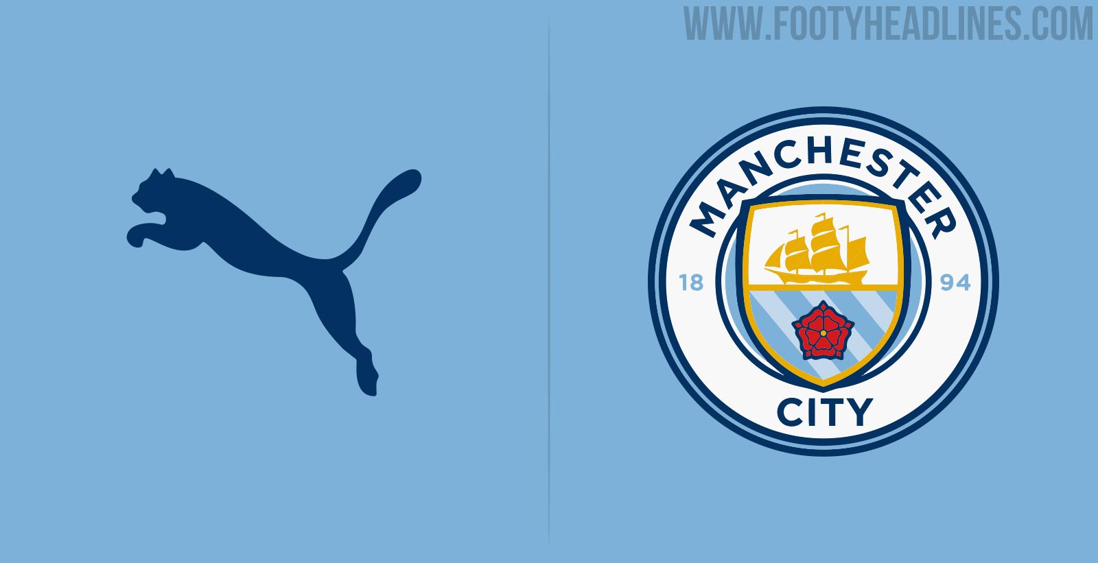 Manchester City   Kits To Be Made By Puma