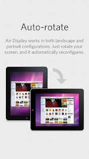 L'app Air Display per iPhone e iPad