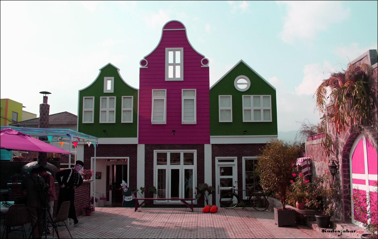 Rumah Belanda Maribaya Lembang