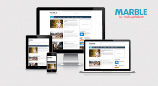 Marble-responsive-blogger-template-2016