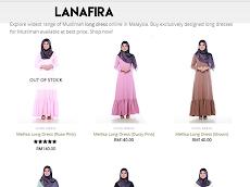 Mudahnya mencari pakaian muslimah, terbaik di butik online Lanafira