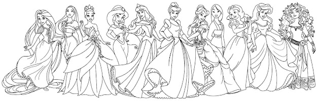All Princess Coloring Pages  Beautiful Disney Princess Coloring Page   For Your Coloring Pages Online