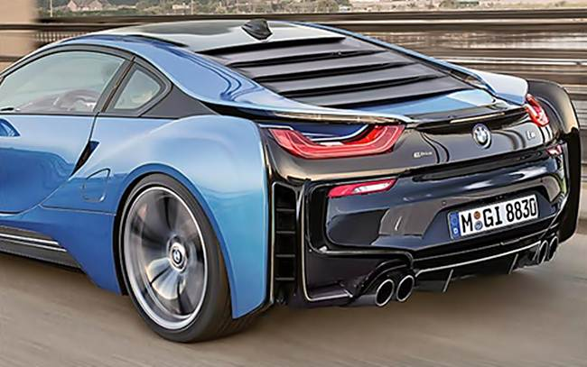2017 BMW I8 Spyder Redesign Release Date
