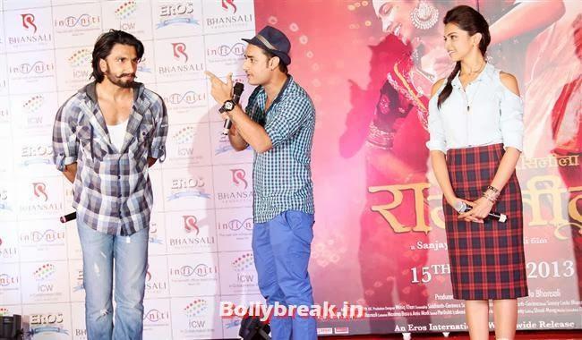 Promotion of Movie Ram Leela, Deepika Ranveer Promote Movie Ram Leela