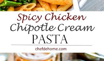 Spicy Chicken Chipotle Cream Sauce Pasta