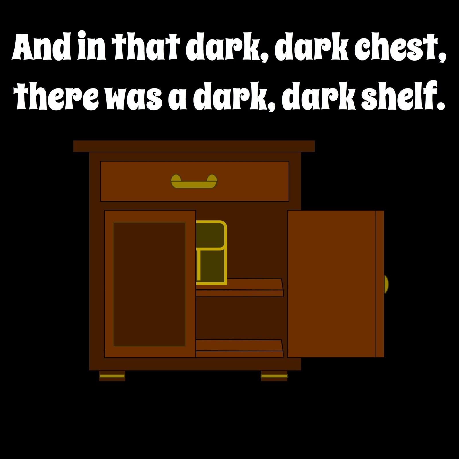 Three Ghost Friends: In a Dark, Dark Room...