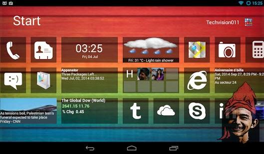 Download Gratis aplikasi android merubah tampilan menjadi windows