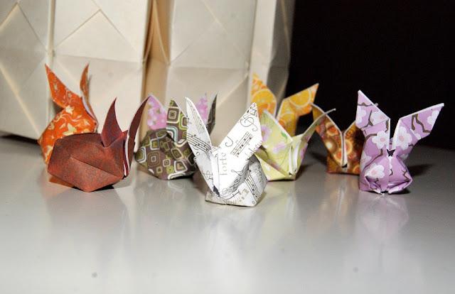 wildres faltanleitung origami osterhasen. Black Bedroom Furniture Sets. Home Design Ideas