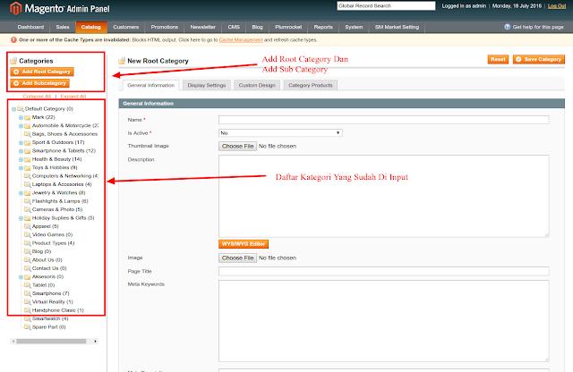 Belajar CRUD Module Category Ecommerce Magento Tutorial Magento - Belajar CRUD Module Category Ecommerce Magento, Mengelola dan Memanage Data Catageri Pada Toko Online Magento, Membangun Toko Online dengan Magento.