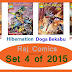 Set 4 of 2015 Raj Comics