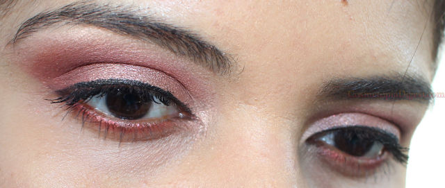 Coloured Raine Queen of Hearts Eyeshadow Palette EOTD
