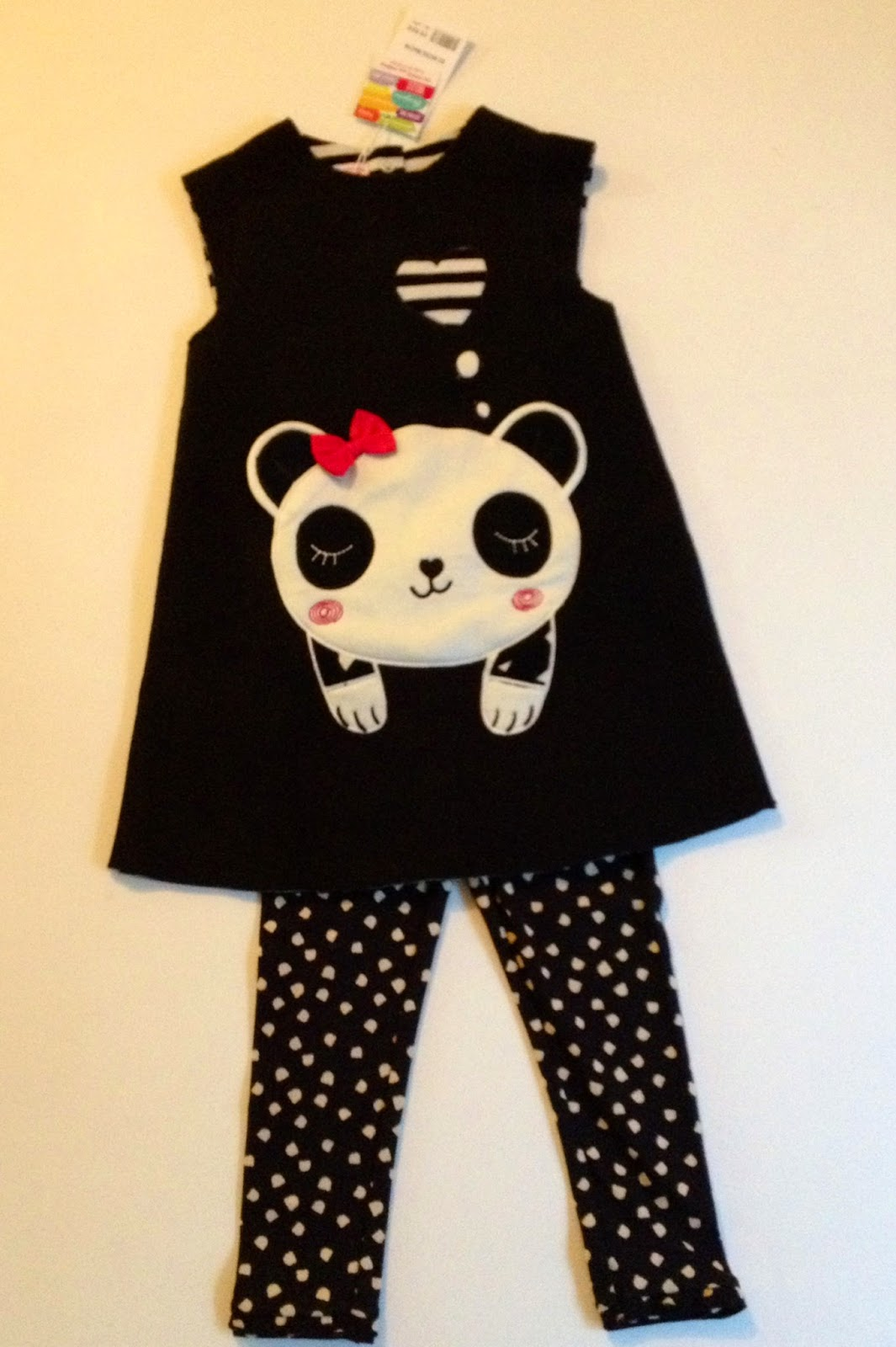DPAM - robe panda et legging