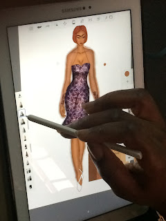 Design, Manual & Digital Fashion Illustration Course starts 6 & 10 February, 2018. Registration is on!