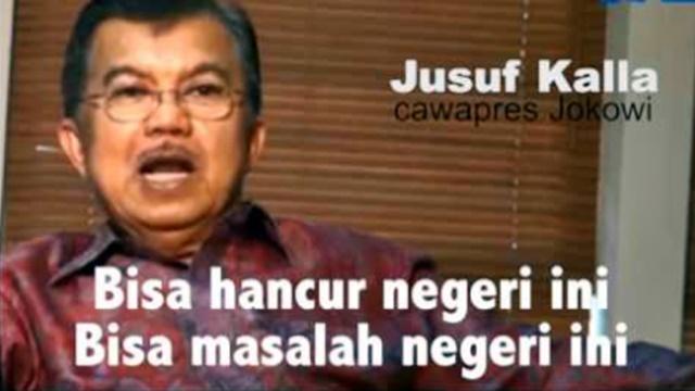 Fadli Zon Ingatkan Kembali Pernyataan Jusuf Kalla pada 2014 Soal Kekacauan Negeri