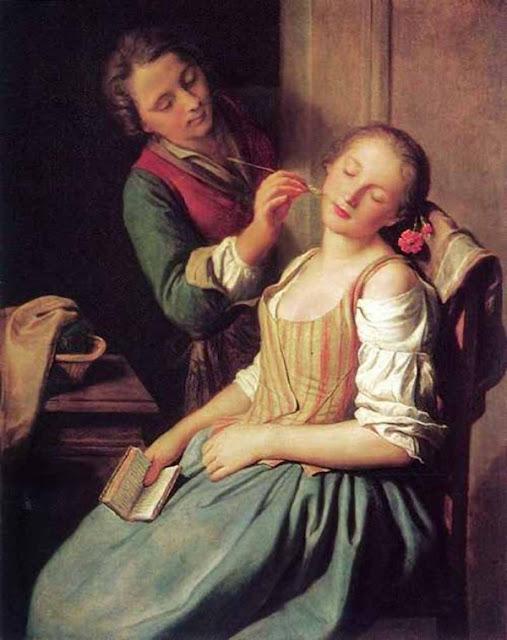 Ротари Пьетро Антонио Pietro Antonio Rotari Спящая девушка
