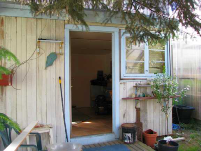 Brenda Wilbee's gold rush cabin abode, Skagway AK 2010
