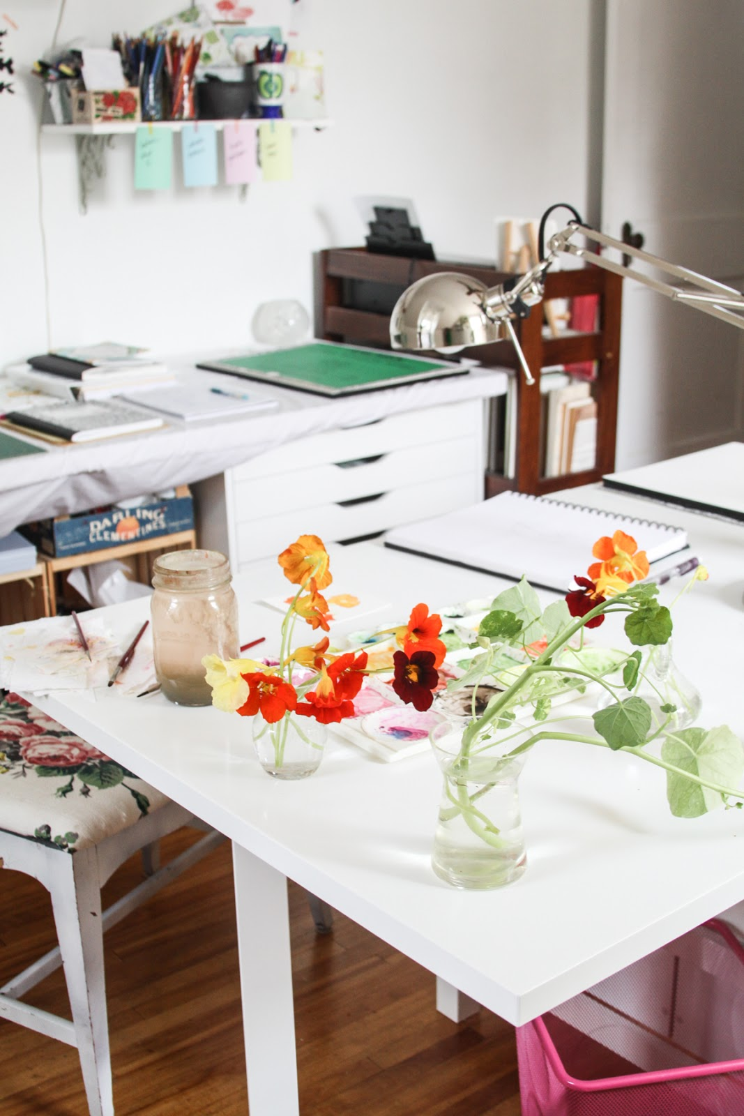 My Studio and Thoughts on Developing a Creative Work Space