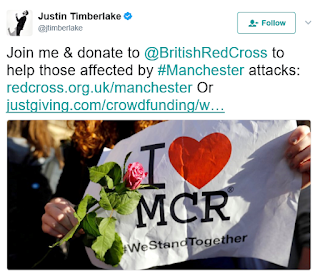 Justin Timberlake And Rapper Eminem Help raise $3m For alleged Manchester Bomb victims