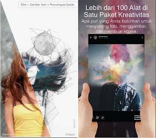 PicsArt - Aplikasi Edit Foto Jadi Lukisan