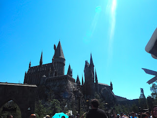 Harry Potter ride at Universal