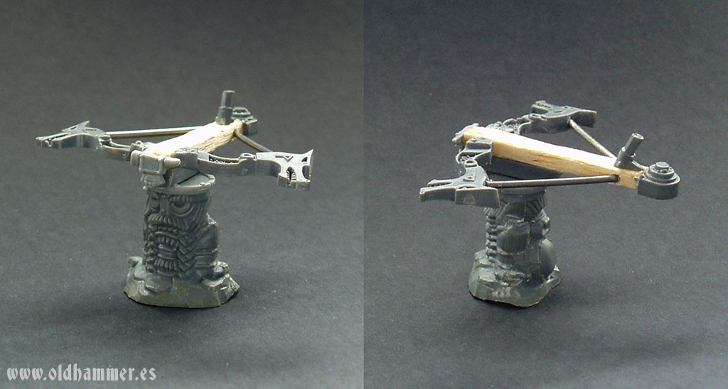 dwarf bolt thrower conversion lanzavirotes enano