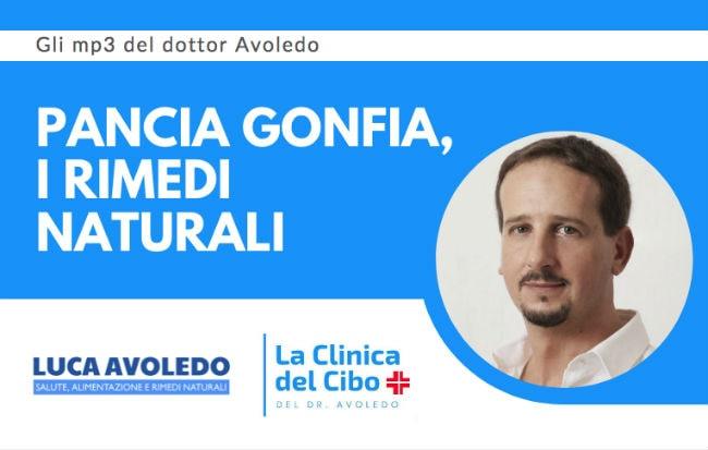 Il dottor Avoledo parla di pancia gonfia su Radio 24