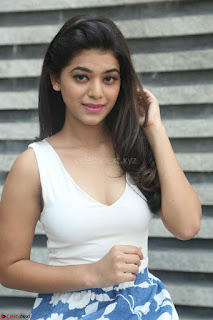 Yamini in Short Mini Skirt and Crop Sleeveless White Top 013.JPG