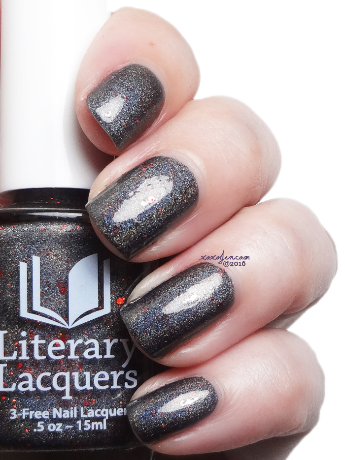 xoxoJen's swatch of Literary Lacquers The Eye, The Key