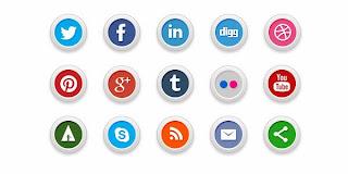 30 Free Social Media Icons Set