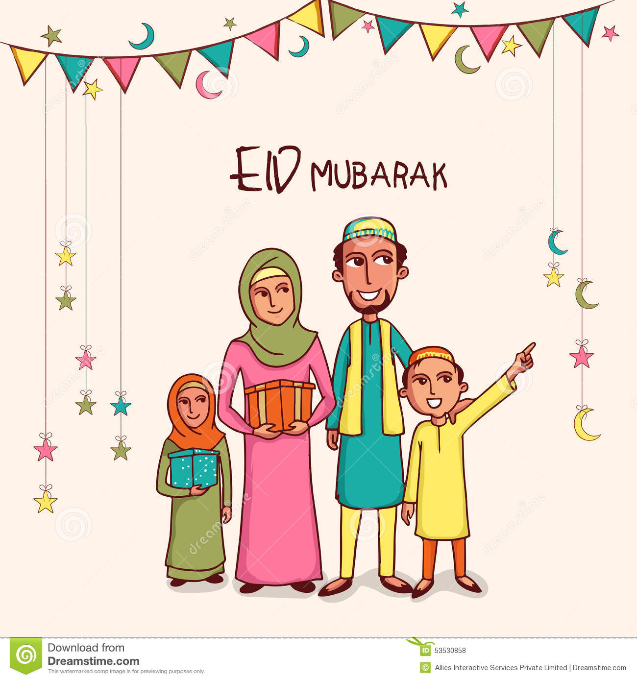 Cool Family Eid Al-Fitr Greeting - Eid-Mubarak-Wishes-for-family-2017%2B%25281%2529  You Should Have_258498 .jpg