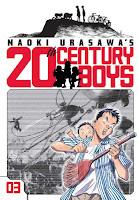 20th Century Boys Vol. 3 by Naoki Urasawa.