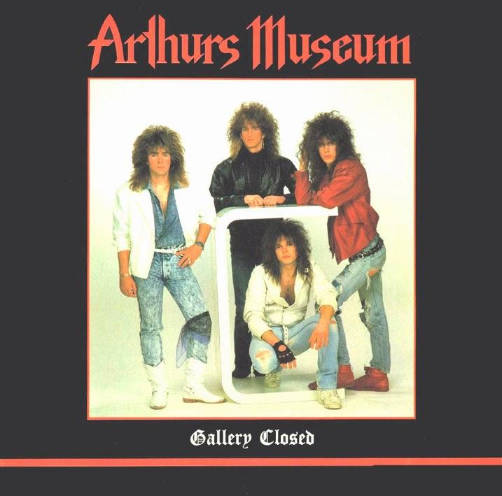 Arthurs Museum Gallery closed 1988 aor melodic rock