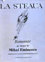 La steaua. Romanţe pe versurile lui Eminescu