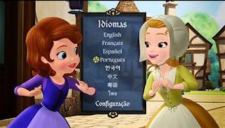 Princesinha Sofia  Pronta para ser uma Princesa