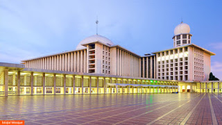 Photo: Istiqlal Mosque, Indonesia