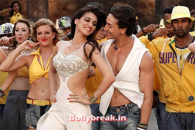 Kriti Sanon and Tiger Shroff in Heropanti, Kriti Sanon won't Don a Bikini, unless demanded