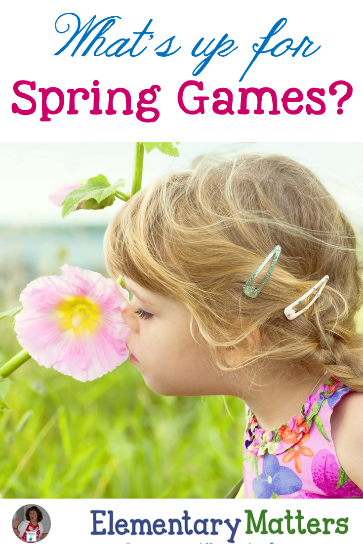 Spring is here and the children are feeling the excitement of the season! Here are some spring games and activities to help keep that spring excitement focused!