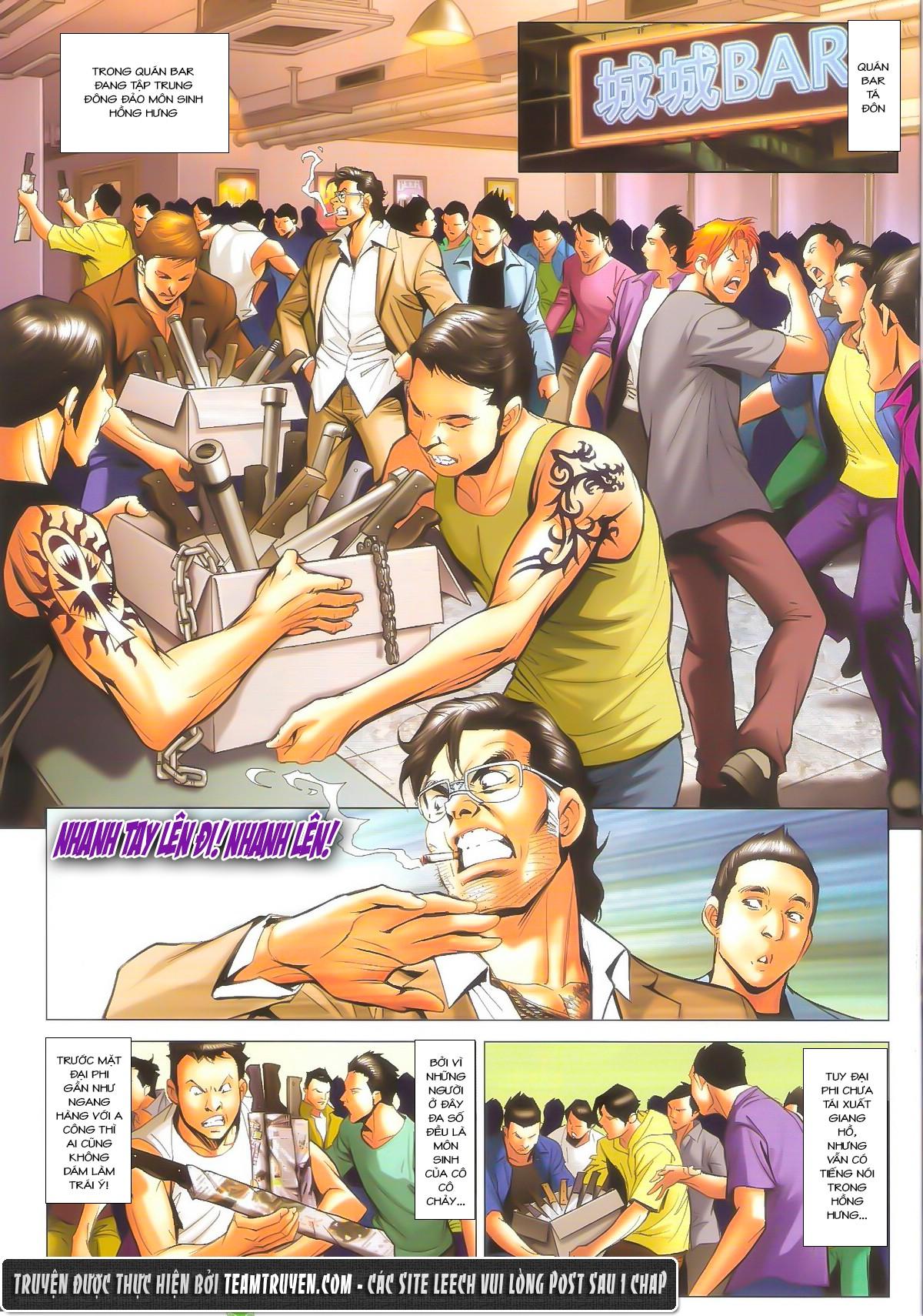 Người Trong Giang Hồ chapter 1604: hồng hưng vs trường lạc trang 4